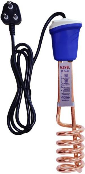 Havel Star ISI Mark Shock-Proof & Water-Proof HSI 124 Copper 2000 W Immersion Heater Rod