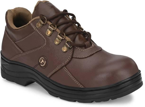 Timberwood TW61BRN Steel Toe Genuine Leather Safety Shoe