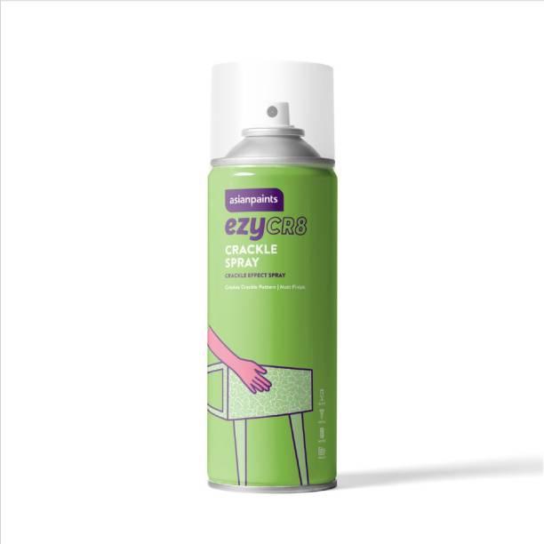 ASIAN PAINTS ezyCR8 Crackle, DIY Aerosol Spray for Cracked Pattern Finish-200 ml, Brown Spray Paint 200 ml