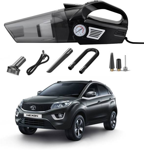 Oshotto 3 in 1 100W OSHO-103/BL Vacuum Cleaner Cum Tyre Inflator for Tata Nexon Car Vacuum Cleaner