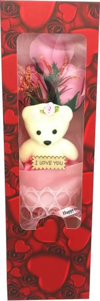 RANGOLI Artificial Flower Gift Set