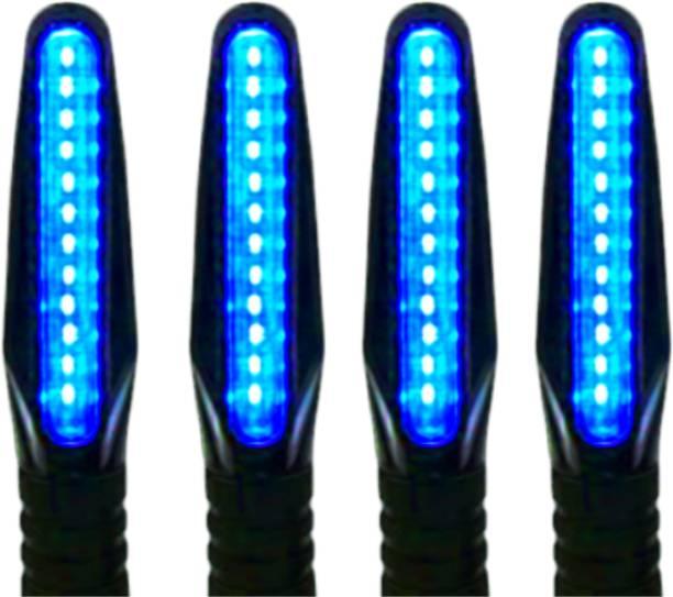 Samite Side, Front, Rear LED Indicator Light for Bajaj, Hero, Honda, TVS, Suzuki, KTM, Kawasaki, Royal Enfield Pulsar 135 DTS-i, Discover 100 DTS-i, Pulsar 200 AS, Super Splendor, RC 390, Pulsar 150, Shine 125, CBR 150 R, Karizma, Duke 190, Apache 220, YZF, Duke 200, CB Shine, Splendor Pro, Apache RTR 160, Universal For Bike