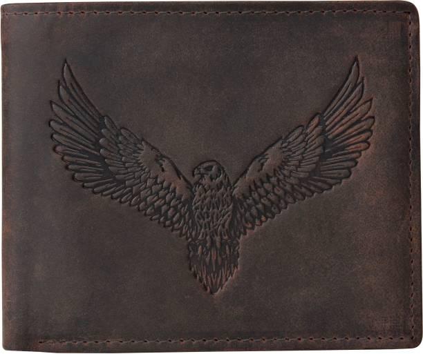 URBAN FOREST Men Brown Genuine Leather Wallet