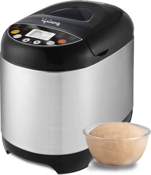 Lifelong Atta and Bread Maker 550 Watt (19 Pre-Set Menu with Adjustable Crust Control) LLBM01. Bread Maker