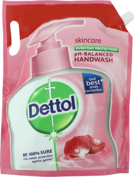 Dettol Skincare Hand Wash Refill Pouch