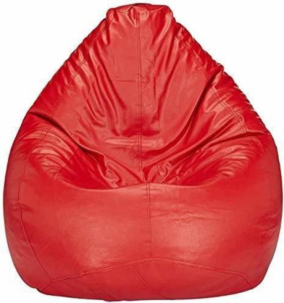 Ratanxsales XXL Tear Drop Bean Bag Cover  (Without Beans)