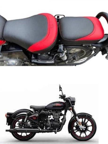 GRILLO NEW CLASSIC BULLET BS6 PREMIUM QUALITY SEAT COVER FOR ( ROYAL ENFIELD ) Split Bike Seat Cover For Royal Enfield Classic 350