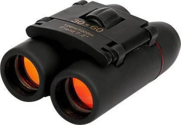 HARIKRUPEX Polarized HD Professional Lightweight Pocket Size Binocular Telescope Folding 30x60 Zoom Lens for Sports, Hunting for Bird Watching Binoculars