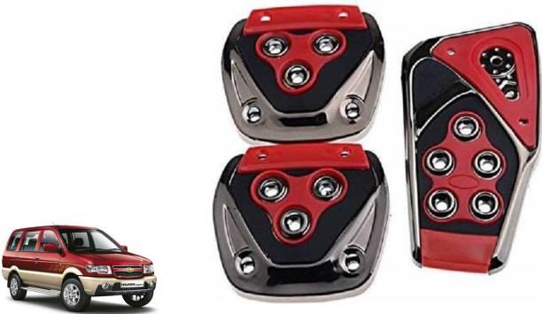 TAKECARE Brake Treadle Clutch Pedal Cover Pad Manual Pedals Non Slip/Anti Slip Car Foot Pedal Cover for Chevrolet Tavera Car Pedal