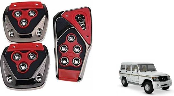 MADMEX Pedal Cover Brake Treadle Clutch Pedals Non Slip/Anti Slip Car Foot Pedal Cover for Mahindra Bolero Car Pedal