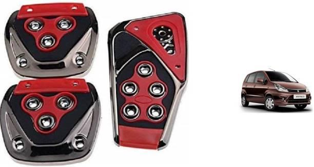 TAKECARE Brake Treadle Clutch Pedal Cover Pad Manual Pedals Non Slip/Anti Slip Car Foot Pedal Cover for Maruti Suzuki Zen New Car Pedal