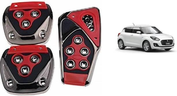 TAKECARE Brake Treadle Clutch Pedal Cover Pad Manual Pedals Non Slip/Anti Slip Car Foot Pedal Cover for Maruti Suzuki Swift Dzire Car Pedal