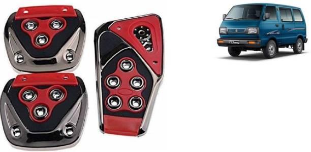 TAKECARE Brake Treadle Clutch Pedal Cover Pad Manual Pedals Non Slip/Anti Slip Car Foot Pedal Cover for Maruti Suzuki Omni Car Pedal