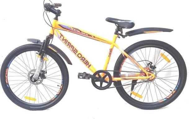 HERO Sprint Count 2.0 Dual Disc With Suspension 26 T Mountain/Hardtail Cycle