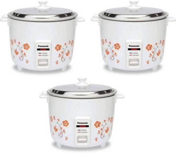 Panasonic SR-WA10H (E) pack of 3 Electric Rice Cooker