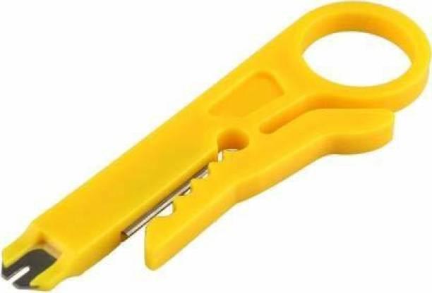 Ihc 9cm Mini Rotary Network Wire Cutter Stripper Punch Down Network UTP Cable Cutter Stripper Wire Cutter