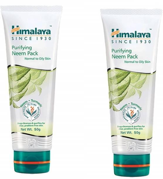 HIMALAYA Purifying Neem Pack 2 x 50 g Packs