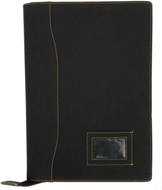 Vanya Creations Leatherette (Velvet Feel) Documents File Folder for Certificates Documents Holder, 20 Leafs B4