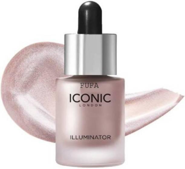 FUFA Natural Iconic london illuminator liquid highlighter face and body waterproof 3D glow bridal makeup Highlighter (Shine) Highlighter