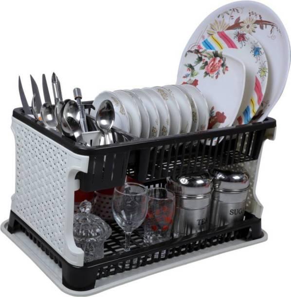 ELIGHTWAY MART Kitchen Organiser Rack Utensil Kitchen Rack (Plastic) Utensil Kitchen Rack