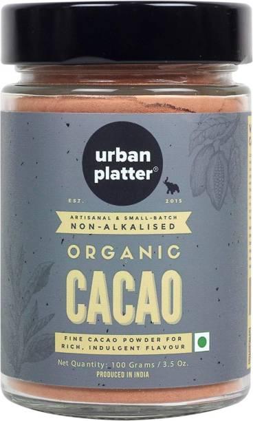 urban platter Non-Alkalized Organic Cacao Powder, 100g Cocoa Powder