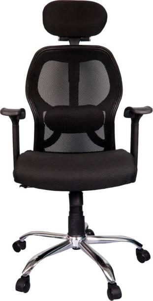 Rajpura Matrix High Back Revolving Chair (RSE001 Black) Fabric Office Executive Chair