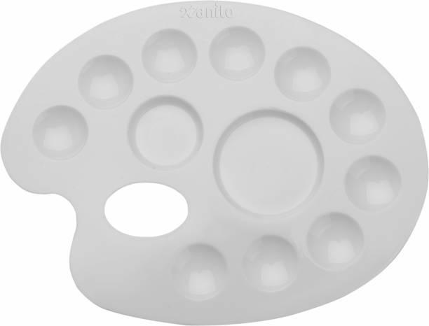 Xanito Plastic 12 Paint Wells Palettes
