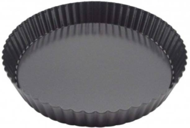 CRAZYGOL Pizza Pans Baking Dish Round Baking Tray non stick pack of 1 Pizza Maker