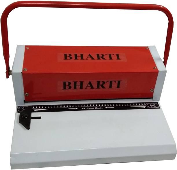 BHARTI ENTERPRISES A4 Spiral Machine - 12 inch 39 holes Manual Ring Binder Manual Ring Binder