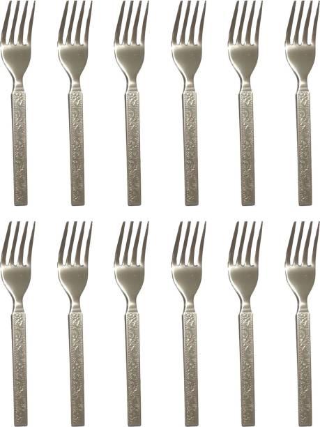Fuchan Fork Steel Salad Spoon Set