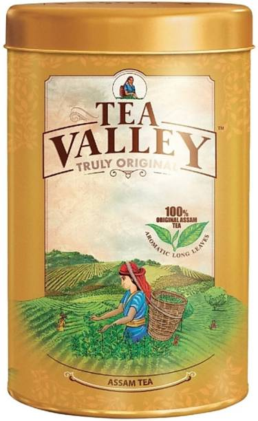 Tea Valley truely original assam tea 500 gram Instant Tea Tin