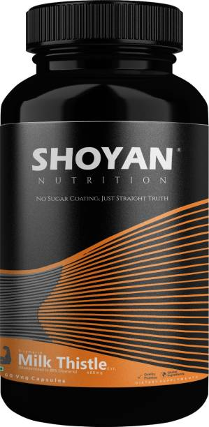 SHOYAN NUTRITION Milk Thistle With Silybum Marianum 600 mg for Liver detox