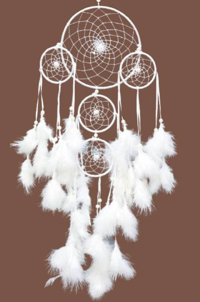 goldy traders Dream Catcher Festive Car Hanging Handmade Hangings for Positivity Feather Dream Catcher