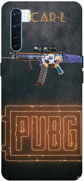 Snapcrowd Back Cover for Oppo F15 Pubg Scra-l Gun back cover