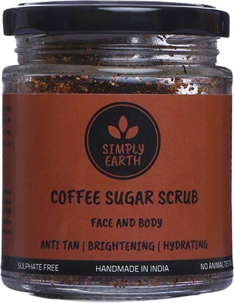 Simply earth Hydrating Coffee Sugar  Scrub