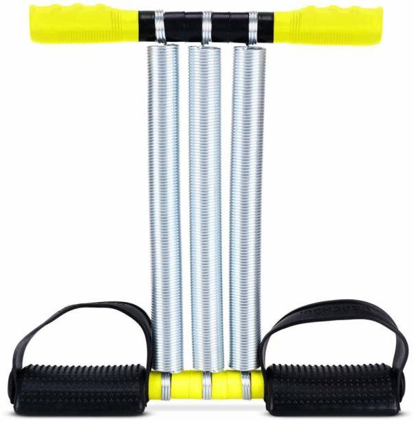 Sasimo TRIPLE SPRING AB EXERCISER TUMMY TRIMMER Gym & Fitness Kit