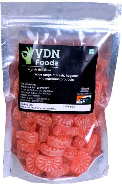 VDN FOODz Orange Candy   Narangi Candy Orange Flavour Candy
