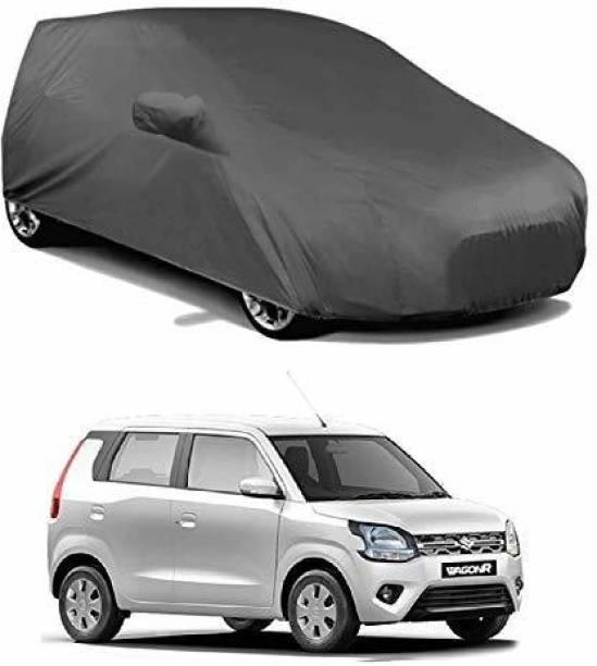 LEOPRODUCTS Car Cover For Maruti Suzuki WagonR (With Mirror Pockets)