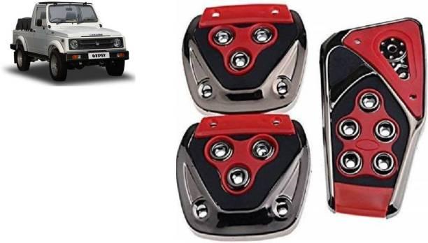 MADMEX Pedal Cover Brake Treadle Clutch Pedals Non Slip/Anti Slip Car Foot Pedal Cover for Maruti Suzuki Gypsy Car Pedal