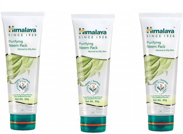 HIMALAYA Purifying Neem Pack 3 x 50 g Packs