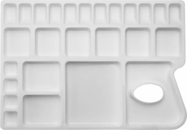Xanito Plastic 25 Paint Wells Palettes