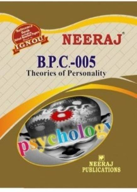 BPC5-Theories Of Personality-IGNOU Help Book Guide For BPC5 ( English Medium | Neeraj Publications )