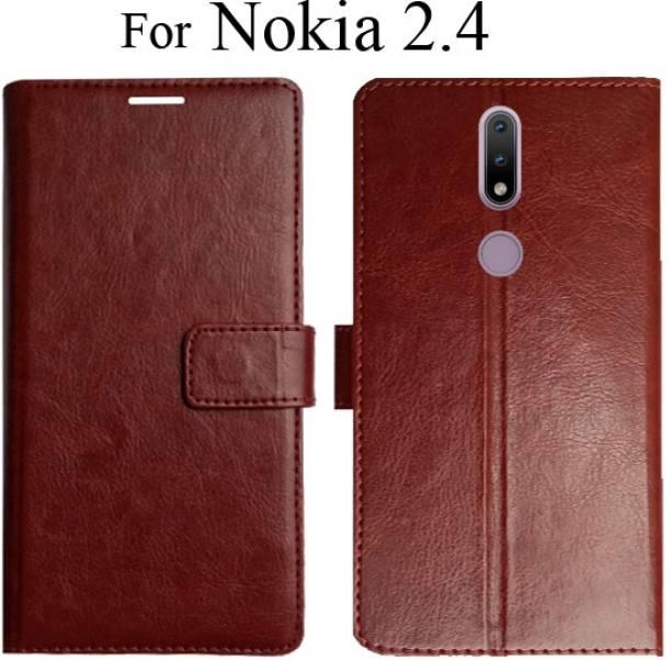 POPKART Flip Cover for Nokia 2.4