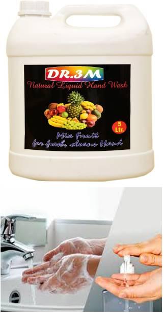 dr.3m MIX-FRUIT Natural hand wash 5ltr. mix fruit