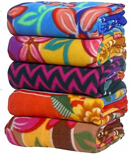 DVS creations Floral Single Fleece Blanket