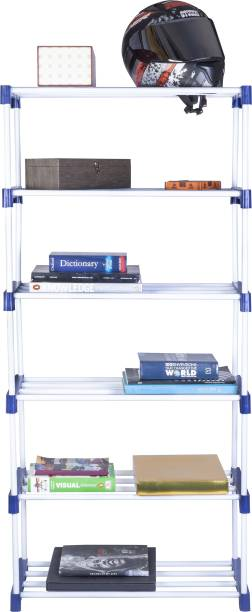 Patelraj Smart Metal Open Book Shelf