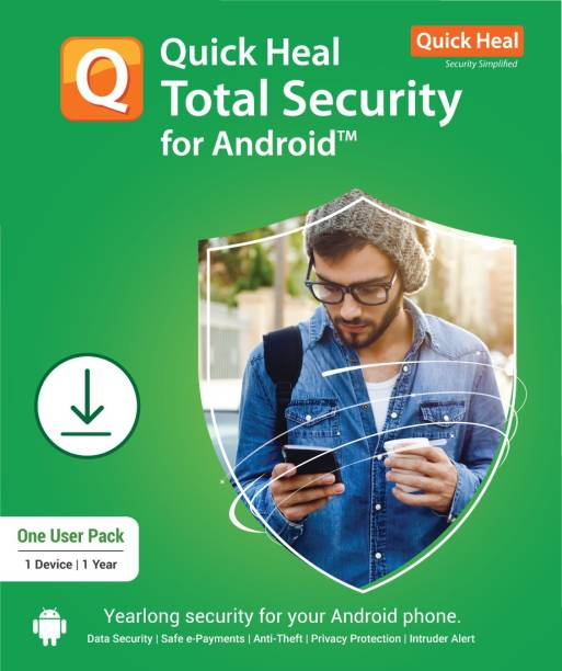 Quick Heal 1 Device 1 Year Mobile Security for Android (Email Delivery - No CD)