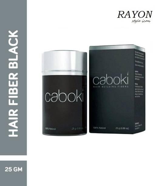 RAYON volumizer Black Caboki hair building fiber Instant fuller hair soft Hair Volumizer fiber hair building fiber Hair Volumizer fiber