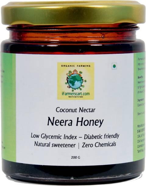 iFarmerscart Coconut Flower Nectar Syrup | Neera Honey | Palm Dew Honey - 200GMS