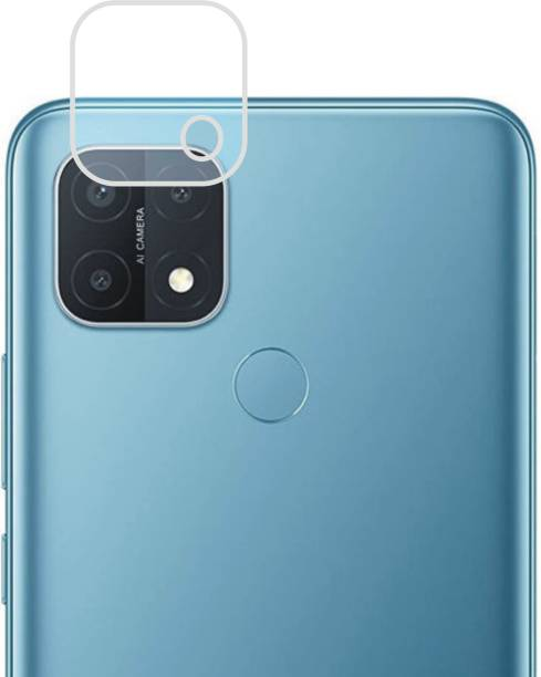 DESIBUZZ Back Camera Lens Glass Protector for Oppo A15, Oppo A15s